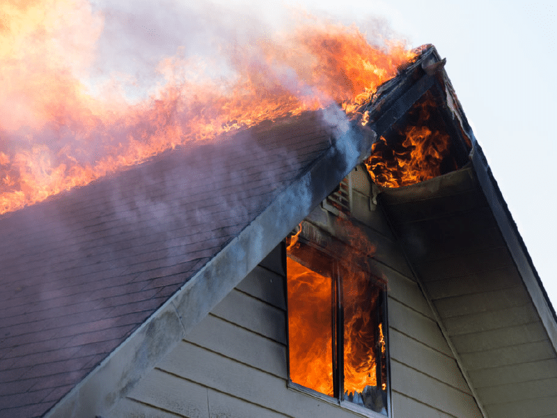 Fire Damage Colony Home Reconstruction Services
