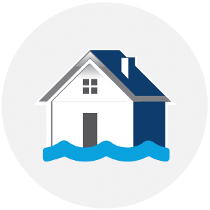 Flood Damage Repair Colony Home Restoration Services Icon
