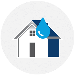 Water Damage Repair Colony Home Restoration Services Icon